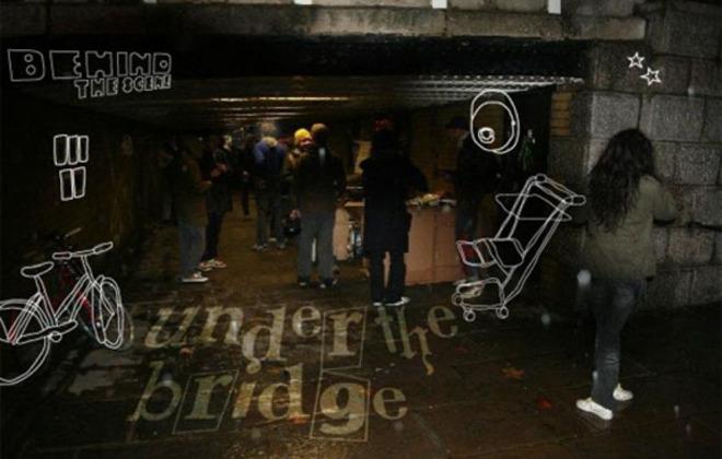 Behind the Scene... Under the bridge