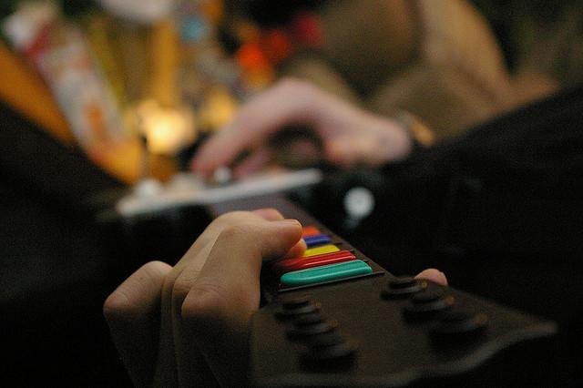 Guitar Hero in action