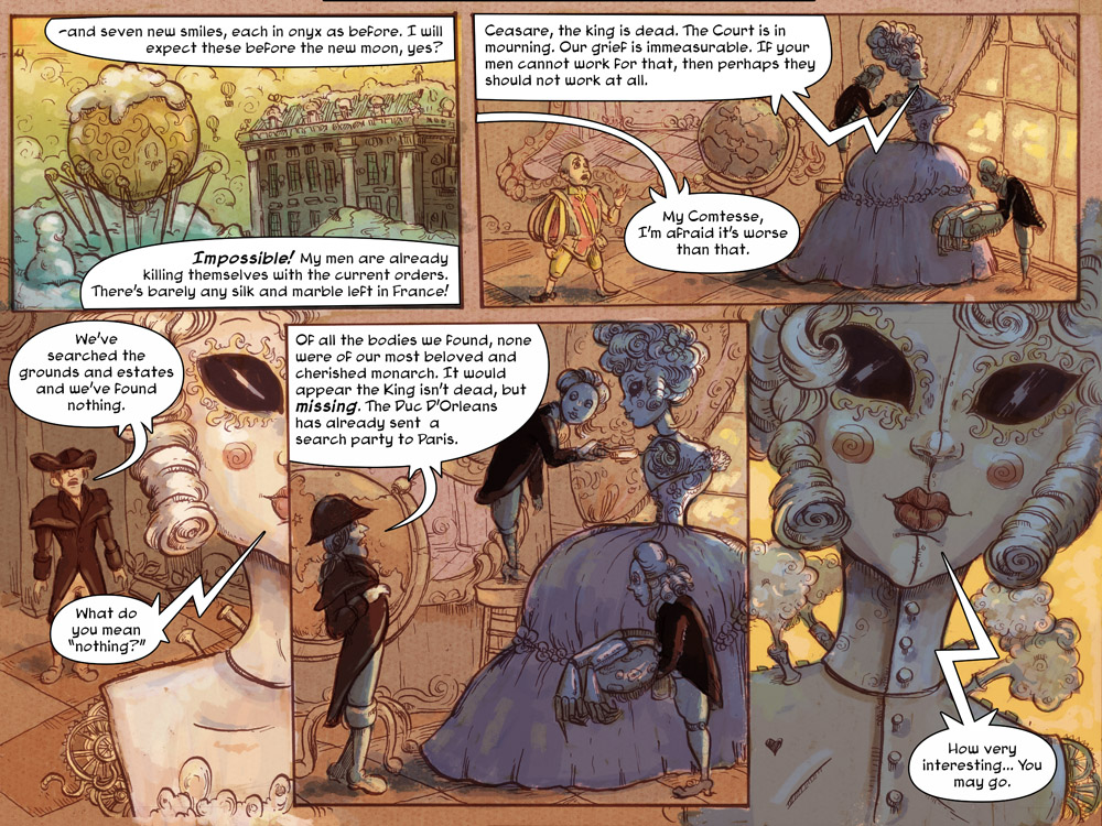 The Puppet Makers Web Comic By Molly Crabapple  Comics And