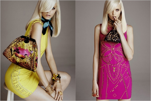 Abbey-Lee for Versace