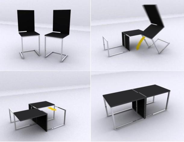 Magazine festivals london - Table and chairs for small spaces concept ...
