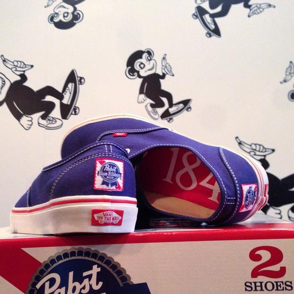 9ae0180afd10a2 PABST BLUE RIBBON X VANS COLLAB