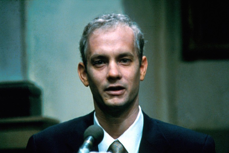 andrew beckett philadelphia Philadelphia (1993) tom hanks, denzel washington civil lawsuit by associate (andrew beckett) against his law firm under the americans with disabilities act for firing him when they found out he had aids.