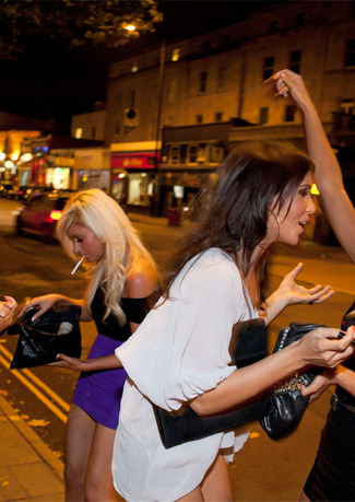 Girls' Night Out by Martin Parr